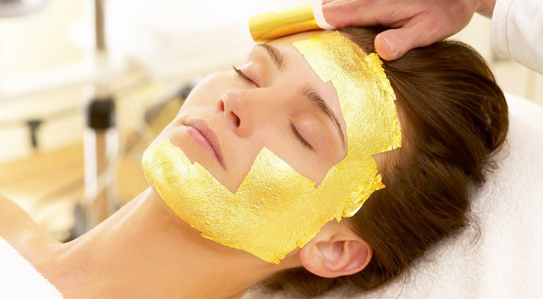Gold mask to ageless?