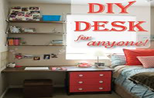DIY Desk Nightstand – Free Woodworking Plans.