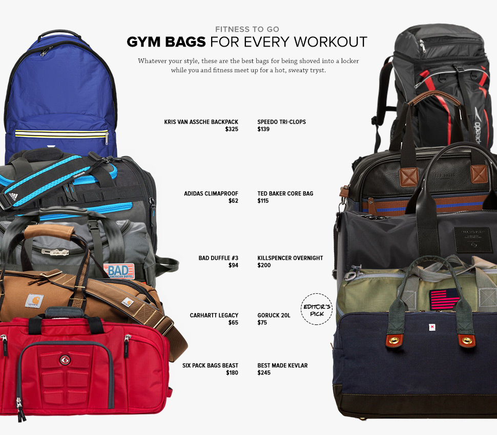 The Best Gym Bags For Men Bestter