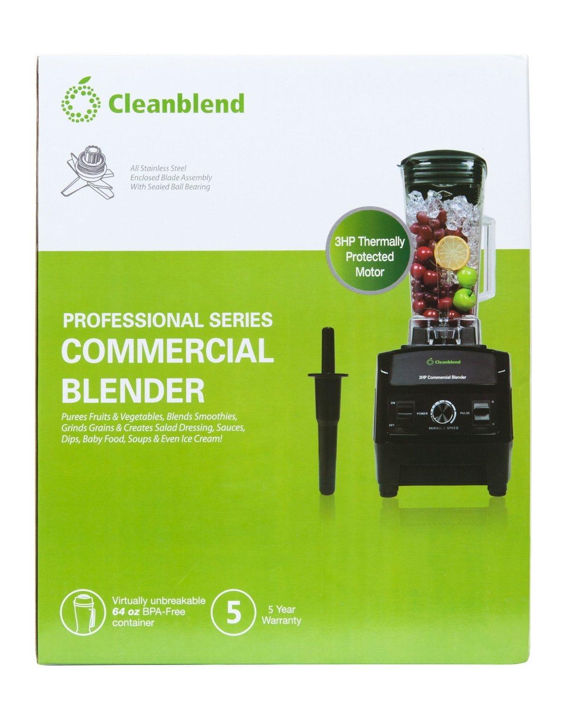 Runner-up Blender: Cleanblend 3HP 1800-Watt