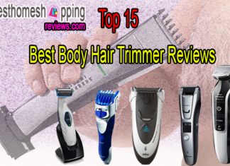 Best Body Hair Trimmer Reviews