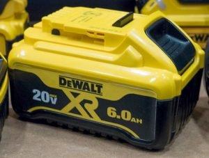 DEWALT 20V MAX 6.0AH AND FLEXVOLT 9.0AH BATTERY PACKS