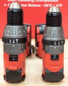 GEN 1 VS. GEN 2 M18 FUEL DRILL COMPARISON