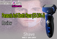 Panasonic Arc5 Electric Razor (ES-LV61-A) Review