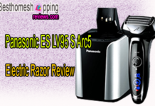 Panasonic ES LV95 S Arc5 Electric Razor Review