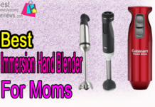 The Best Immersion Hand Blender for Moms