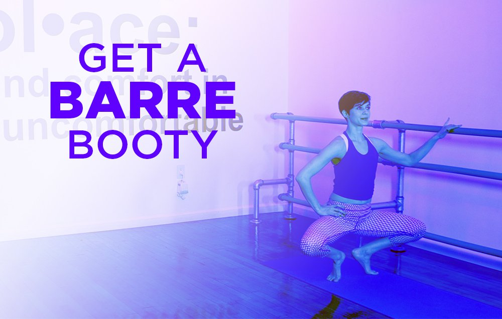 Get a Dancer's Booty with These 12 Barre-Inspired Exercises