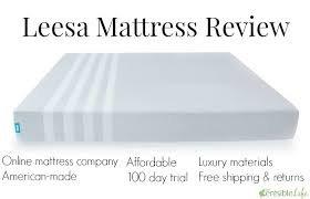 The Leesa Mattress Review