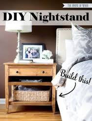 Cheap DIY Nightstand ideas