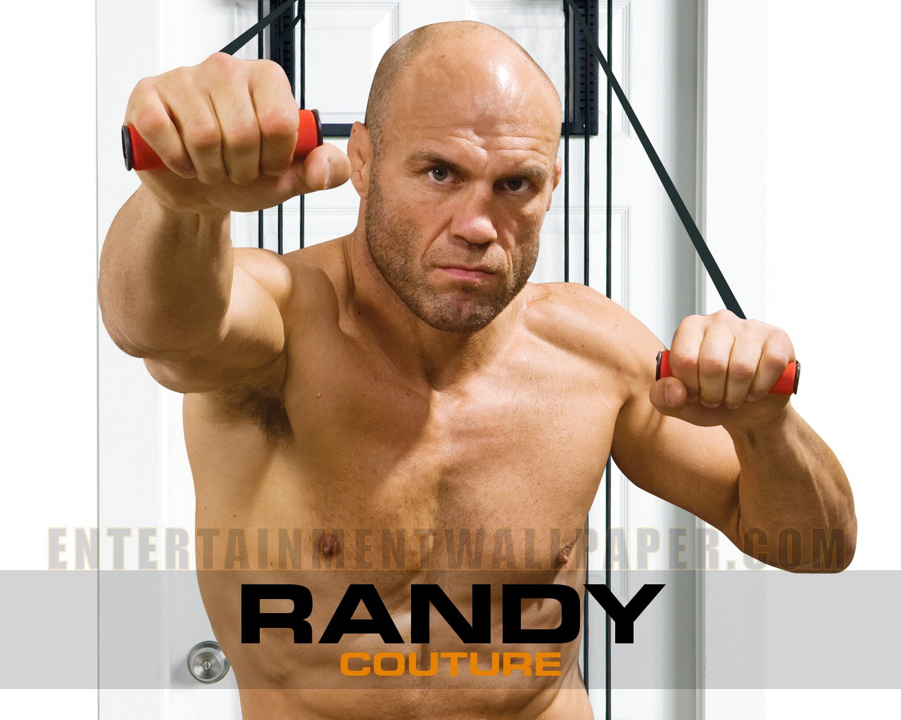 Randy Couture stepped out of the Octagon in October 2007 to focus on a career in the entertainment industry.