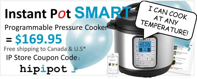 Instant Pot Bluetooth Smart Cooker Series Specifications