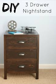 BUILD A FULL OF DRAWERS NIGHTSTAND
