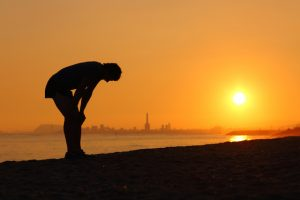 Once goodbye gym, three components of the body will be affected: cardiovascular system, muscles and weight
