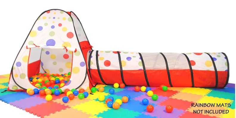 eWonderWorld Polka Dot Teepee Play Tent House