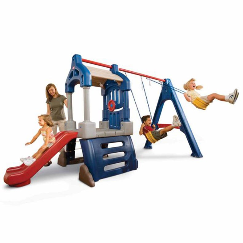 Little Tikes Clubhouse Swing Set