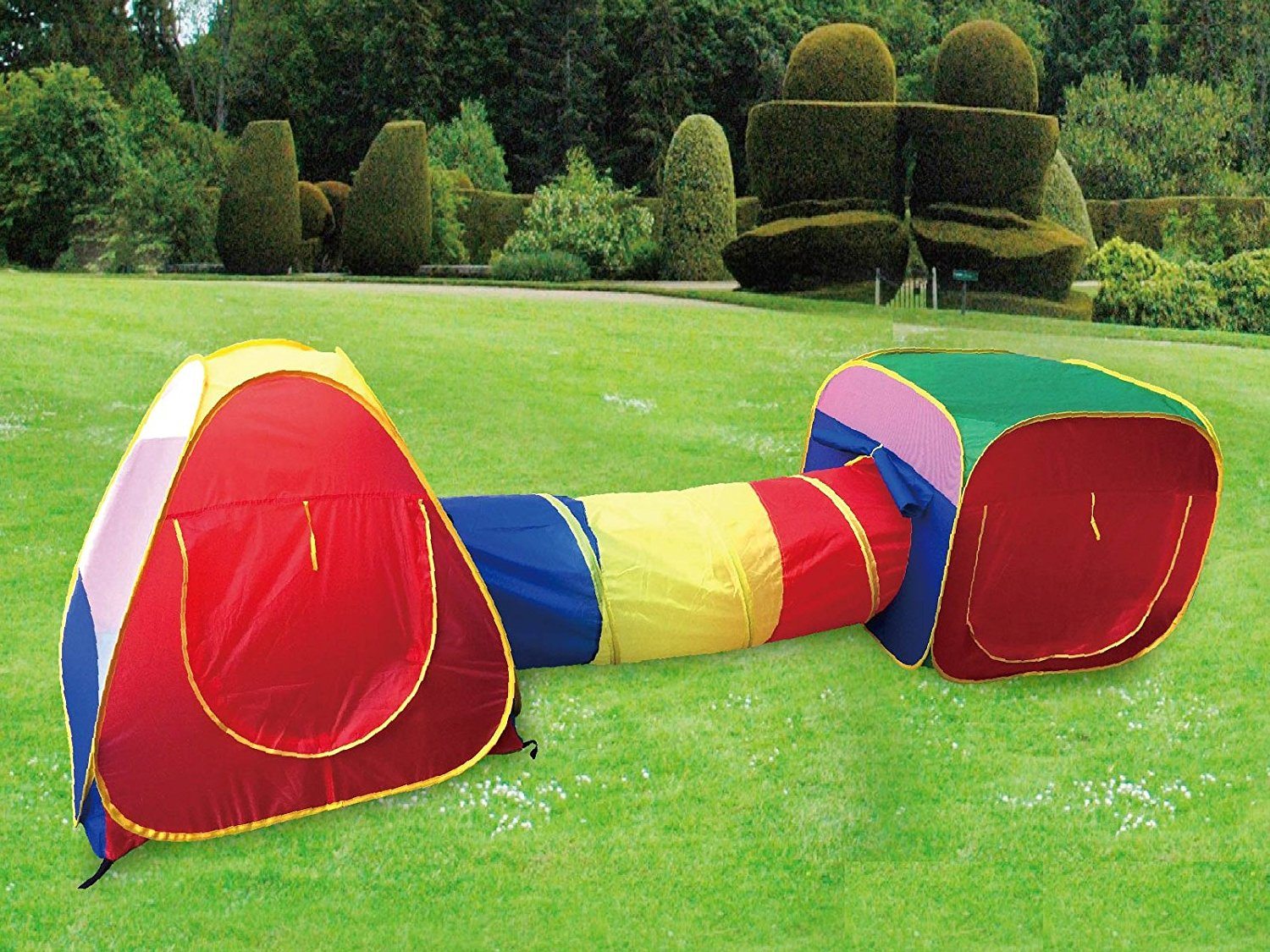 Cubby Tube Teepee Kids Play Tent And Tunnel Adventure