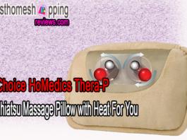 Choice HoMedics Thera-P Shiatsu Massage Pillow with Heat For You
