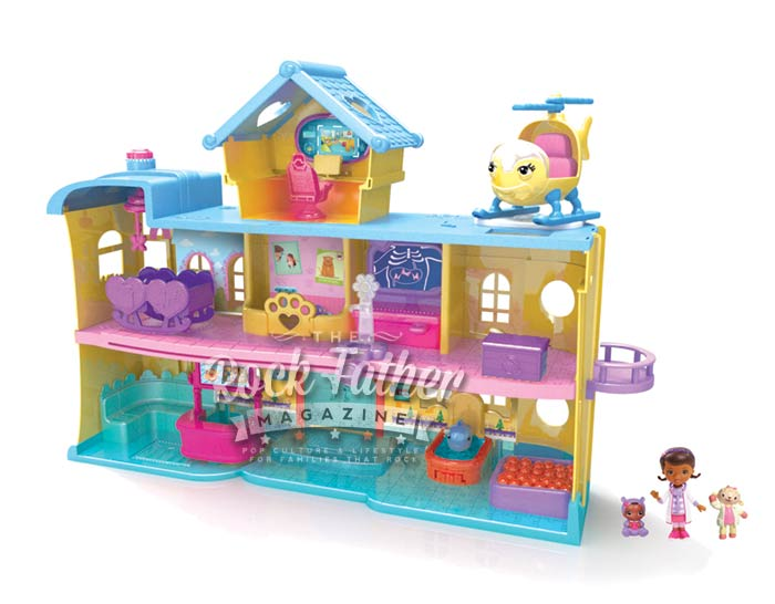 Doc Mcstuffins Toys : Just play doc mcstuffins toy hospital playset bestter