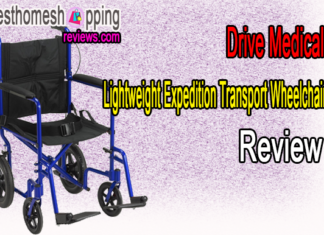 Drive Medical Lightweight Expedition Transport Wheelchair Review