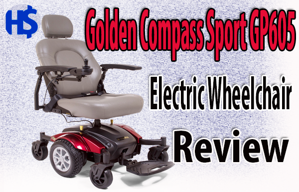 Golden Compass Sport GP605 Electric Wheelchair Review