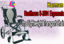Karman Healthcare S-2501 Ergonomic Ultra Lightweight Transport Chair