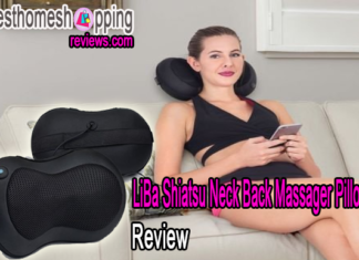 LiBa Shiatsu Neck Back Massager Pillow Review