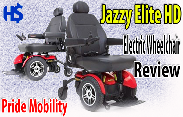 Pride Mobility Jazzy Elite HD Electric Wheelchair Review