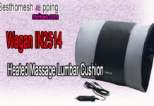 Wagan IN2514 Heated Massage Lumbar Cushion