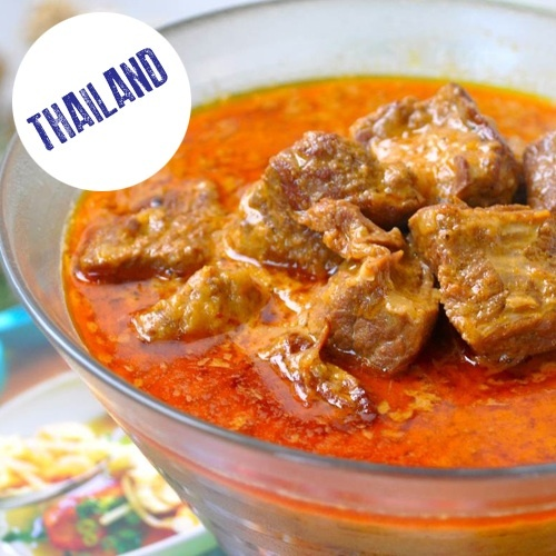 PRESSURE COOKER THAI BEEF CURRY