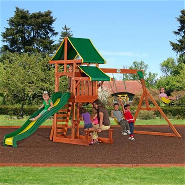 Tucson All Cedar Wood Playset Swing Set