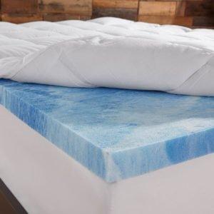 Sleep Innovations 4-Inch Dual Layer Full Mattress Topper