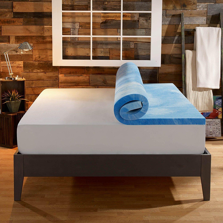 "Sleep Innovation 4"" Dual Layer Mattress Topper Review"