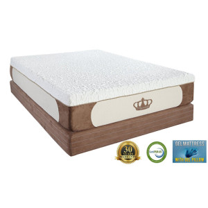DynastyMattress New Cool Breeze 12-Inch Gel Memory Foam Mattress