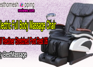 Electric Full Body Massage Chair W/ Recliner Stretched Foot Rest 06 By BestMassage