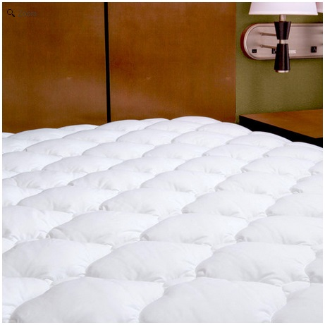 Extra Plush Double Thick Fitted Mattress Topper