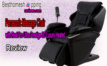 Panasonic Massage Chair with Real Pro Ultra Prestige 3D Luxury Heated