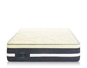 LUCID 16 Inch Plush Memory Foam and Latex Mattress Review