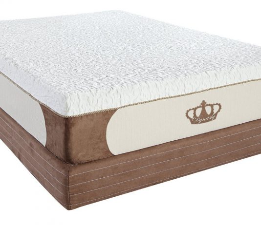DynastyMattress 14-Inch Grand Cool Breeze HD GEL Memory Foam Mattress