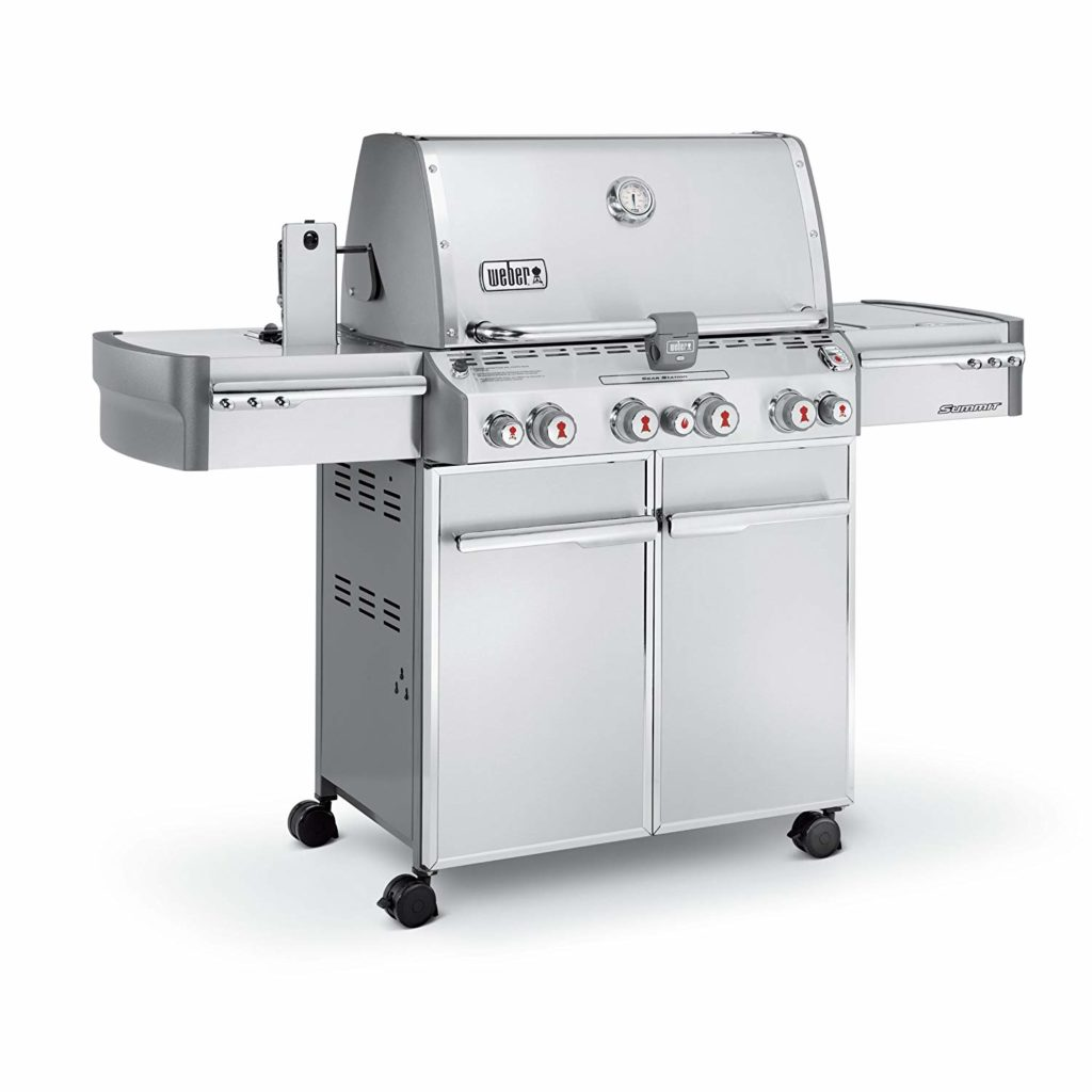 Best Natural Gas Grills 2018 By Weber Summit S-470