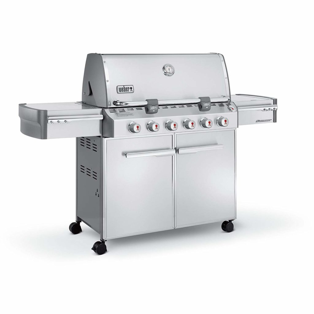 Best Natural Gas Grills 2018 By Weber Summit S-620