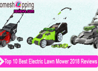Top 10 Best Electric Lawn Mower 2018 Reviews