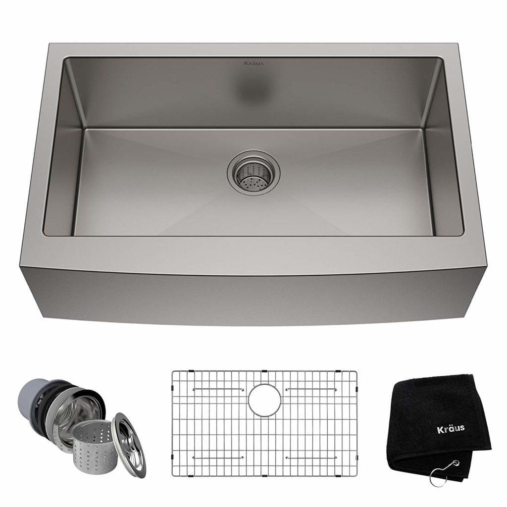 best single bowl kitchen sink by Kraus KHF200-33