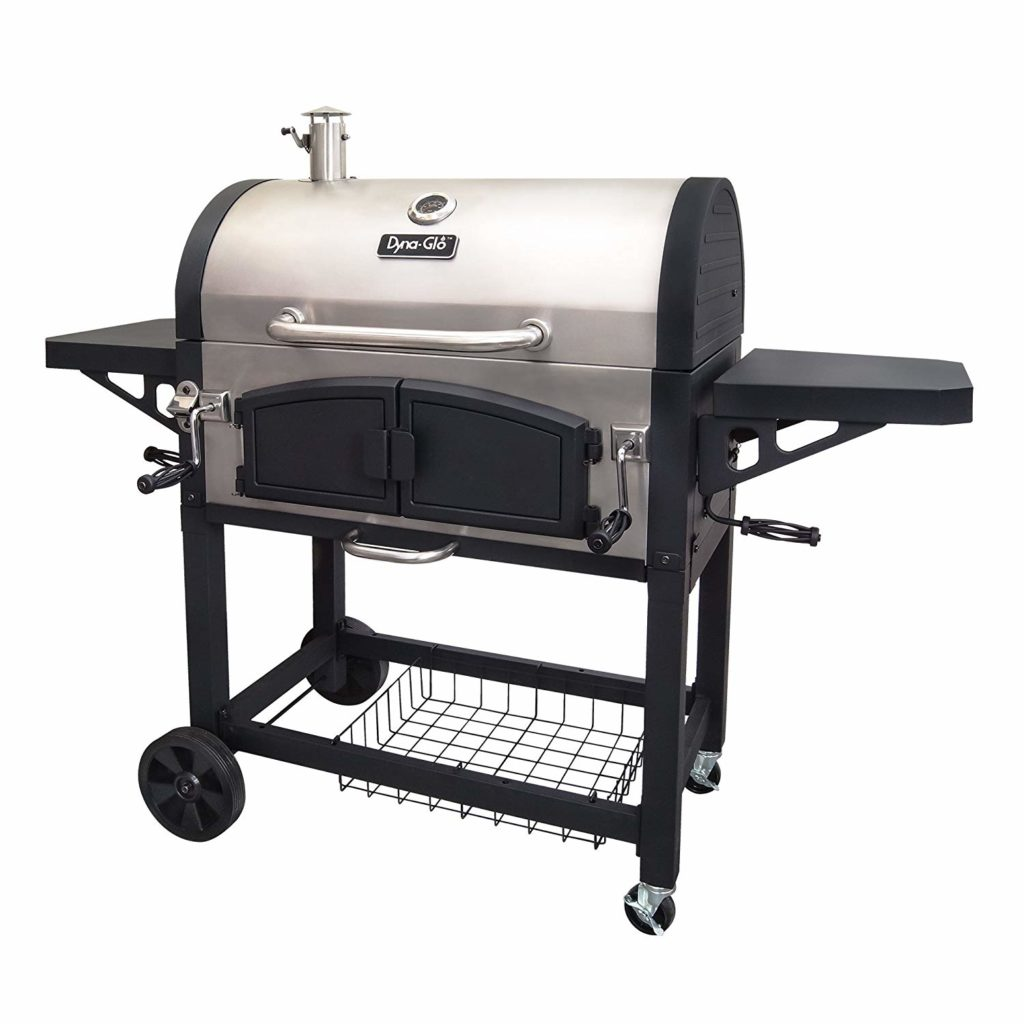 Best Charcoal Grills 2018 By Dyna-Glo Dual Zone Premium