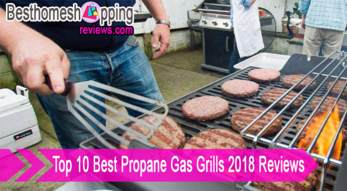 Top 10 Best Propane Gas Grills 2018 Reviews